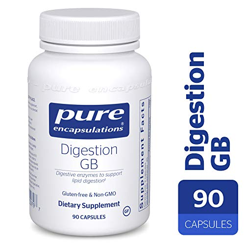 Pure Encapsulations – Digestion GB – Digestive Enzyme Formula with Extra Support for Gall Bladder Function and Fat Digestion* – 90 Capsules For Sale
