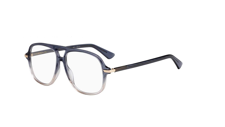 0a2d78ab707b Amazon.com  Authentic Christian Dior Essence 16 0BR0 Blue Pink Eyeglasses   Clothing