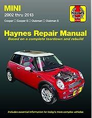 Mini Cooper, Cooper S, Clubman & Clubman S 2002 thru 2013 Haynes Repair Manual: Cooper, Cooper S, Clubman, Clubman S