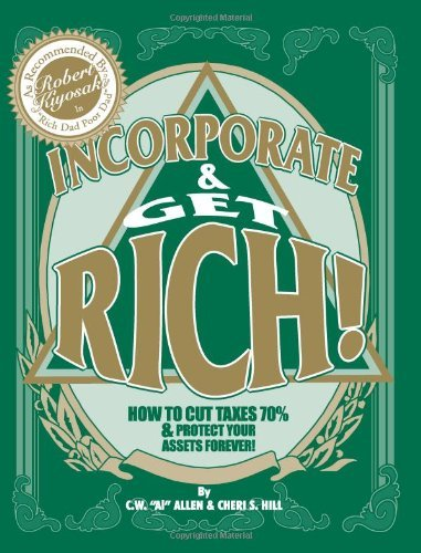 Download By Cw Allen - Incorporate & Get Rich! (3/17/09) ebook