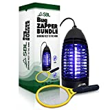 SBL Home Bug Zapper, Mosquito Zapper, Fly Zapper Indoor Lamp Bundled with Electric