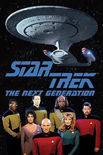 Star Trek Next Gen Cast Poster 24 x 36in -