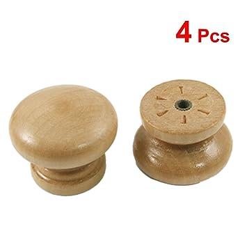 10 Stueck Schublade Griff Ausgestattet Möbelknöpfe aus Holz DE