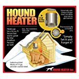 "Image of Akoma Heat-N-Breeze Dog House Heater and Fan Black 10"" x 10"" x 4.5"""