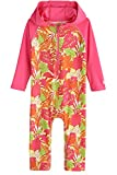 Coolibar UPF 50+ Baby Hooded One-Piece Swimsuit