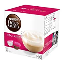 Nescafe Dolce Gusto Coffee Capsules - 24 Flavours to choose from. Box of 16 Pods - Chai Tea Latte by Dolce Gusto Coffee