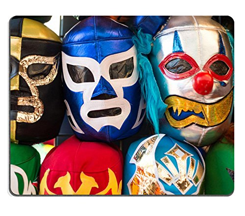 MSD Mousepad Image ID 23904575 Arrangement of various colored luchador masks as a (Make Luchador Costume)