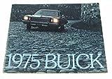 1975 75 BUICK BROCHURE Skyhawk Riviera Century Regal