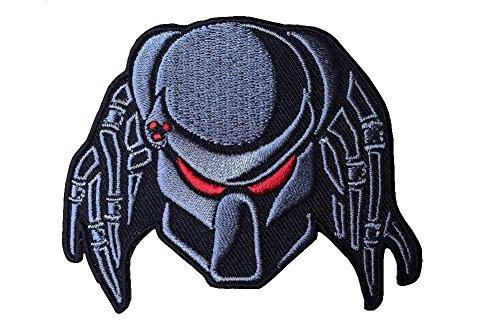 Predators Masks (Predator Mask Iron On Embroidered Patch Gift Set)