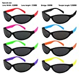 Edge I-Wear 8 Pack Party Sunglasses with UV 400 Lens (Made in Taiwan) (5460R/SET-8)