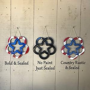 Patriotic Horseshoe Wreath made with Authentic Horseshoes, Independence Day, FREE SHIPPING 89