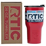 RTIC Tumbler, 20 oz, Red, Insulated Travel