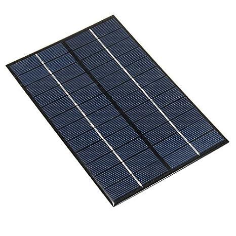 Beautiful NUZAMAS 4.2W 12V 350ma Mini Pannello Solare Modulo Solare Della Cella Di  Sistema Camping Caricabatterie