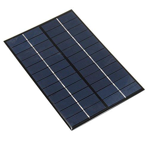 NUZAMAS 4.2W 12V 350ma Mini pannello solare Modulo solare della cella di sistema Camping caricabatterie DIY Parti 200mm X 130mm