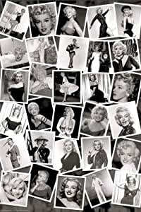 amazoncom marilyn monroe black amp white collage movie