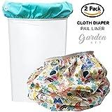 Baby Tooshy Diaper Pail Liner Set (2) - Large Capacity...