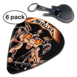 lixua guitar picks metallica guitar accessories 6pc celluloid guitar picks. Black Bedroom Furniture Sets. Home Design Ideas