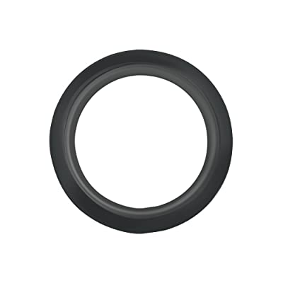 "Grand General 80473 Black 4"" PVC Rubber Round Grommet: Automotive"