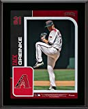 "Zack Greinke Arizona Diamondbacks 10.5"" X 13"" Sublimated Player Plaque - MLB Player Plaques and Collages"