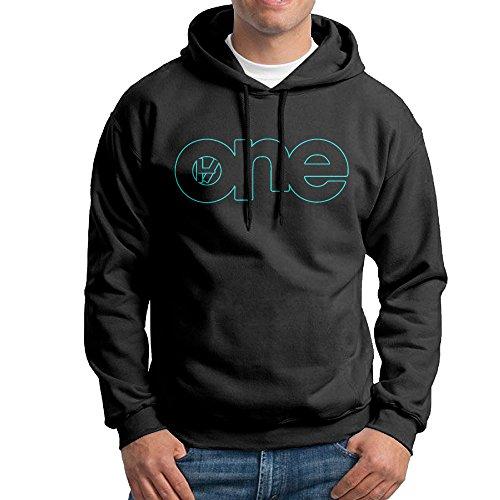 AUGU Men One Hooded Sweatshirt Black