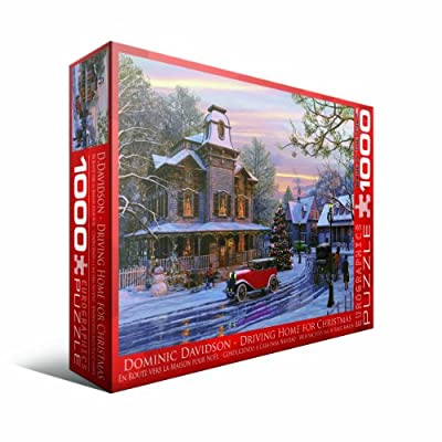 Driving Home For Christmas 1000 Pc Puzzle 6000-0427 Davidson Dominic from EuroGraphics
