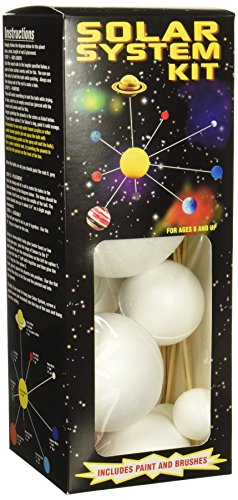- Smoothfoam Unpainted Solar System Kit W/Paint & Brushes