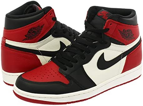 AIR JORDAN 1 RETRO HIGH OG GYM RED/BLACK/SUMMIT WHITE 【BRED TOE】【つま赤】【25.0cm~28.5cm】 [並行輸入品]