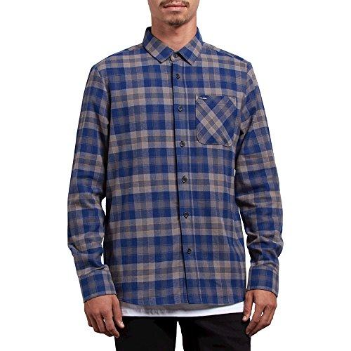 (Volcom Men's Caden Classic Flannel Long Sleeve)