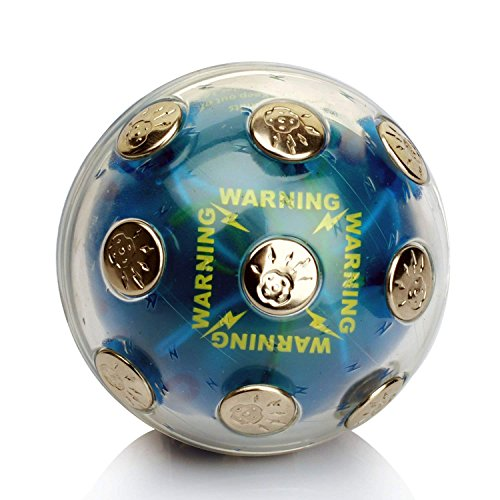 ThinkTop Shock Ball Shocking Hot Potato Game Adventure Exciting Screaming Game Funny Toy Electronic Toy Novelty Gift Fun Joking Relaxing For Christmas Party Bar