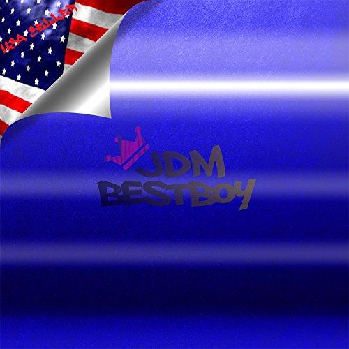 Gloss Metallic Blue Glossy Chevy Chevrolet Bowtie Emblem Vinyl Car Wrap Decal Sticker Cover 5