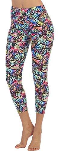 Womens Fold Over Capri Length Fitness Legging product image