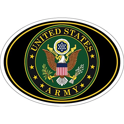 US Army Seal Magnet For Car or Home Army Star Magnet For Car or Home 3-3/4 by 5-1/4 Inches
