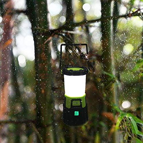 EULOCA 2 1200 LM, Recargable, Regulable, 4 Modos, Linterna para iluminación Exterior, Camping, bivac, casa, Bricolaje, con Cable USB Baby-Girls, 2, 2