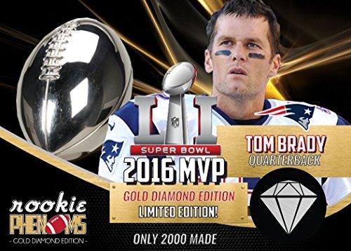 2017 Superbowl 51 Tom Brady Mvp New England Patriots Only 2000 Made
