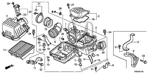 Honda Air Cleaner Clip - 17219-P65-000 by Honda