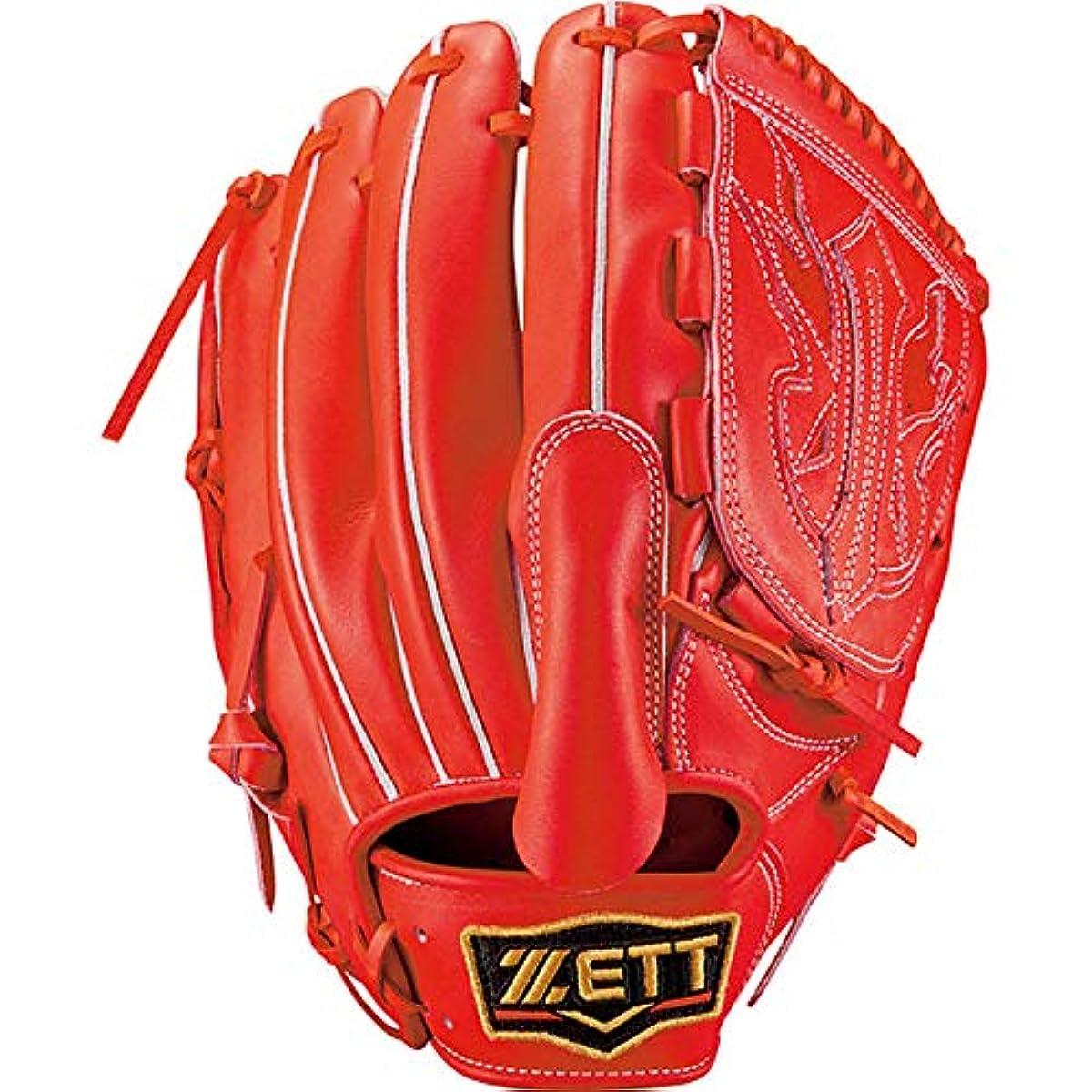 [해외] 제트ZETT 경식 야구 글러브 글러브 프로 스테이터스 pitcher용 오른쪽 던지기용/좌투용 사이즈:6 일본제 BPROG610
