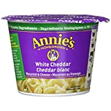 Annie's Homegrown White Cheddar Macaroni & Cheese Microwave Cup, 57 Grams