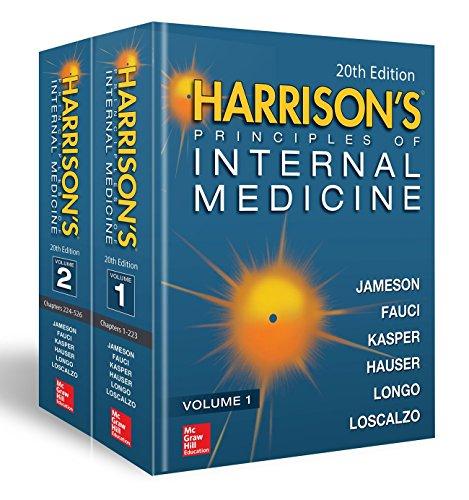 Pdf Medical Books Harrison's Principles of Internal Medicine, Twentieth Edition (Vol.1 & Vol.2)
