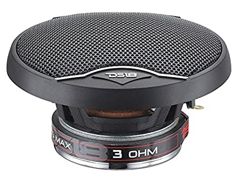 DS18 EXL-SQ4 4-Inch 3-Ohm High Sound Quality Speaker 260 Watts Set of 2