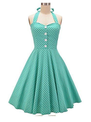 Vintage 50s 60s Green - 6