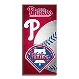 MLB Philadelphia Phillies Emblem Beach Towel, 28 x 58-Inch