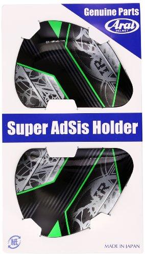 Arai Helmets Shield Cover Set for Defiant Helmet - Chronos Green 5243 ()