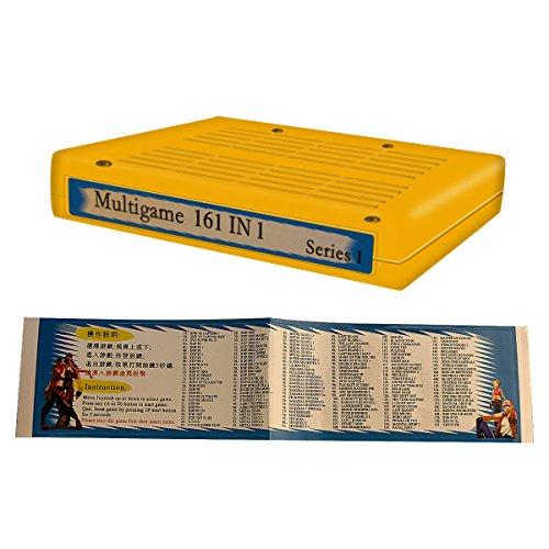 SNK neo geo mvs 161 in 1 JAMMA multi game Cartridge pcb-game boar, game cart only, King of fighters, Metal Slug, etc