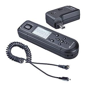 Aputure WTR3N Pro Coworker II FSK 2.4G LCD Wireless Timer Remote Control for Nikon D7100 D7000 D5200 D5100 D5000 D3200 D3100 D90