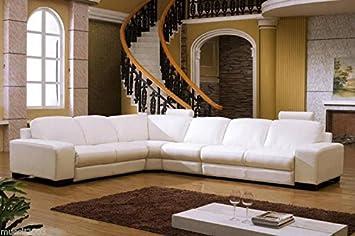 Design Voll Leder Ecksofa Sofa Garnitur Eckgruppe 5010 L W Amazon