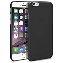 iPhone 6 Plus Case, MagicMobile® Premium Slim-Fit Flexible TPU Cover for Apple iPhone 6 Plus Ultra Thin Case for iPhone 6 Frost Transparent Cute Cover (Black) [Compatible With iPhone 6 Plus 5.5-inch]