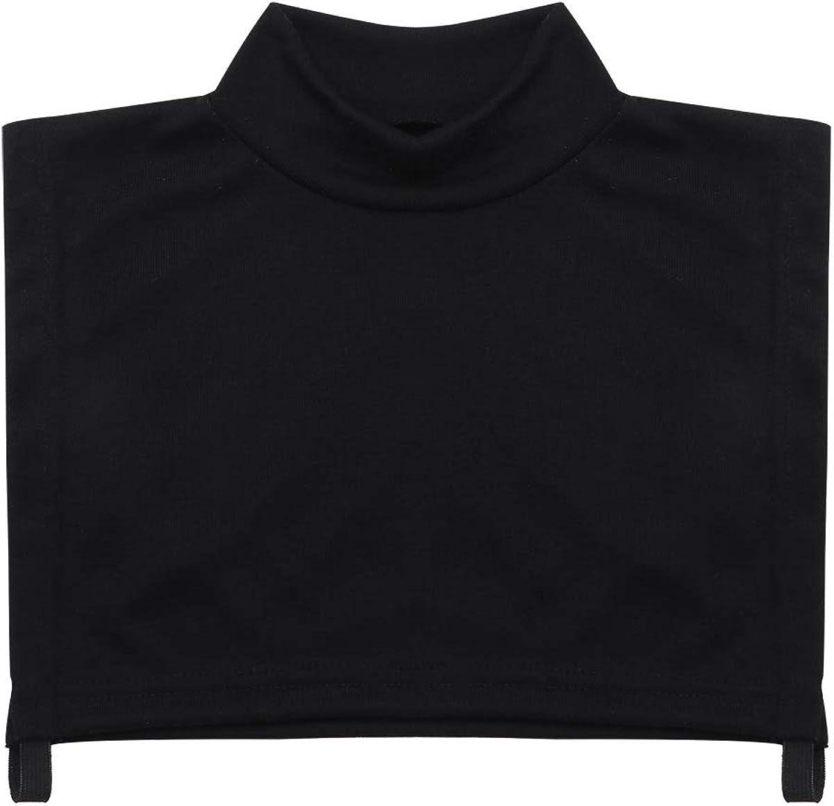 IEFIEL Womens Fake Collar Detachable Turtleneck Top Half Blouse Dickey Collar Neck Cover