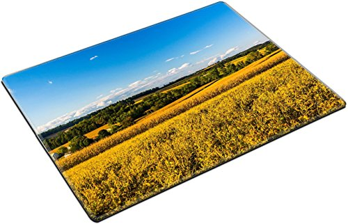 Distant Hills (MSD Place Mat Non-Slip Natural Rubber Desk Pads design 25052757 Farm fields and distant hills in rural York County Pennsylvania)