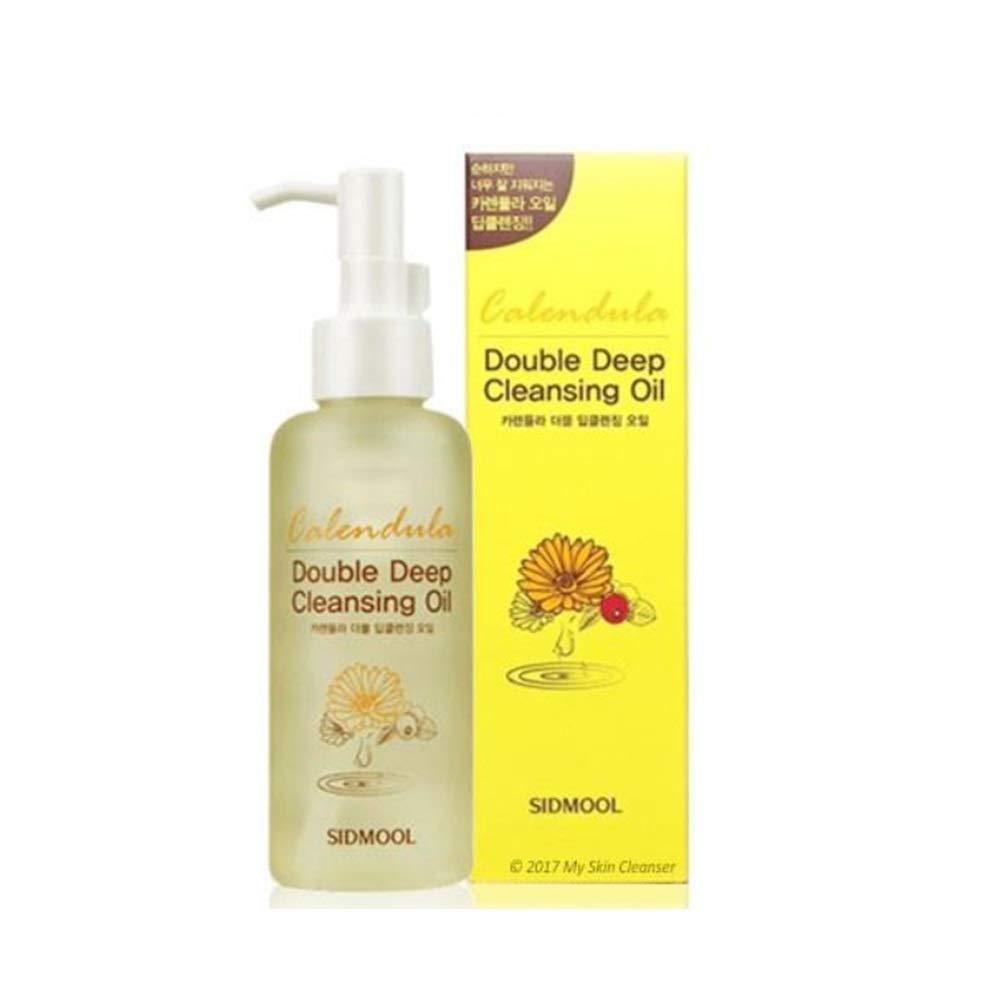 Sidmool Calendula Double Deep Cleansing Oil 5oz K-beauty Calendula Oil 45%