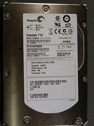 SEAGATE ST3146755SS CHEETAH 146GB 10K - Sas Seagate Cheetah